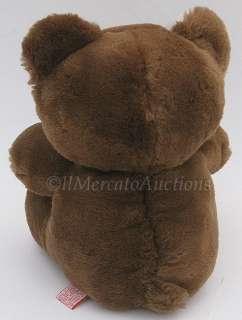 Vtg 1984 DAKIN Fun Farm TEDDY BEAR Brown Plush TOY 9