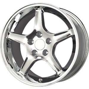 Replica Alloys Cobra MSTG CB Chrome Wheel (17x9/4x108mm