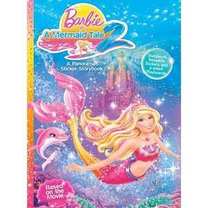 Barbie in a Mermaid Tale 2: A Panorama Sticker Storybook