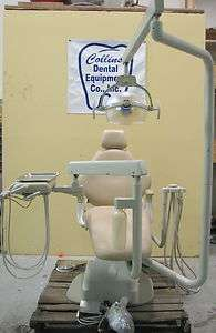 Marus DC1490 Dental Chair Package; w/ Light;3 Handpiece Delivery Unit