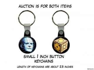 HELLRAISER Pinhead Puzzle Box set of 2 Key Chains
