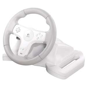 Logitech Wii Speed Force Wireless Racing Steering Wheel 941 000040 NEW