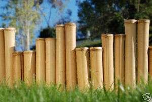 Bamboo Garden Border Edging Commercial Natural