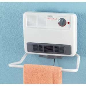 DeLonghi® Wall Mount Heater with Towel Rack, Compare at $100.00