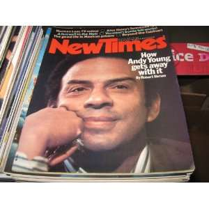 New Times Magazine (Andy Young , Norman lear , Alex Haley