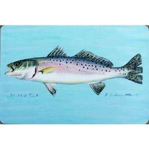 Betsy Drake DM023G Speckled Trout Door Mat 30x50