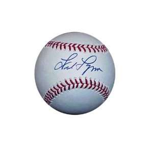 Autograph Fred Lynn Baseball   Boston Red Sox Sports