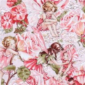 Michael Miller fabric Sweet Garden flower fairies (Sold in