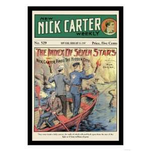 Nick Carter The Index of Seven Stars Giclee Poster Print, 18x24