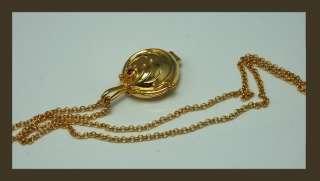 Vampire Diaries Elena Vervain Pendant Necklace Gold Plating