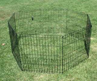 Portable 24X24 Pet Dog Exercise Playpen Pen Cage Fence