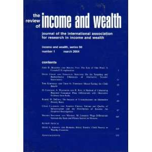 Association for Research in Income and Wealth): John H. Baldwin