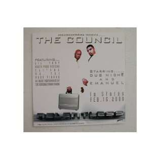 The Council Poster Flat Lil Troy South Park Mexican