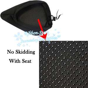 New Bike Bicycle Soft Gel Saddle Seat Cover Cushion AL