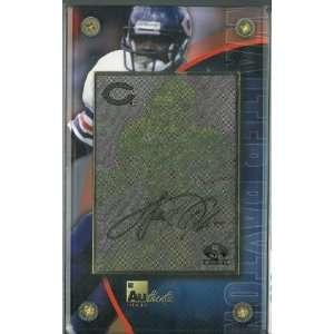 Walter Payton unsigned Chicago Bears 24 Karat Gold Signature Card  LTD