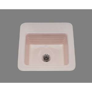 Gloria Square Bar Sink Drop In Only 1 Hole Cast Iron Home Improvement