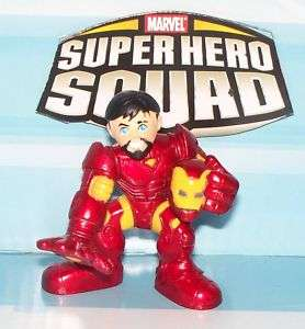 MARVEL SUPER HERO SQUAD IRON MAN # 9 Tony Stark LOOSE