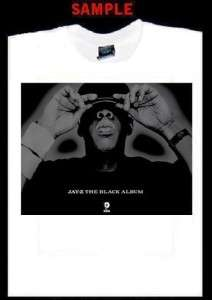 JAY Z BLACK ALBUM CUSTOM T SHIRT TEE rap hip hop 231