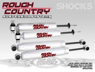 New Shocks 73 91 Chevy/GMC Blazer/Jimmy 4x4 w/ 4 Lift