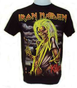 Iron Maiden KILLERS T Shirt  Free Patch