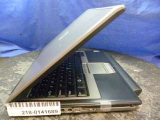 Dell Latitude D630 Dual Core 1.5GB NoHDD DVD 14.1 Laptop 019801087219