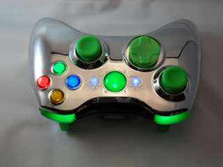 XBOX 360 MODDED CONTROLLER RAPID FIRE MOD BLACK OPS COD MW3 CHROME