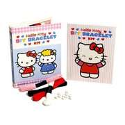 Hello Kitty Friendship Bracelet Kit Colorful Strings & Beads Inside