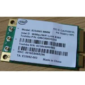Intel 5350 533ANX WIFI Wireless Mini PCI e Card Dell