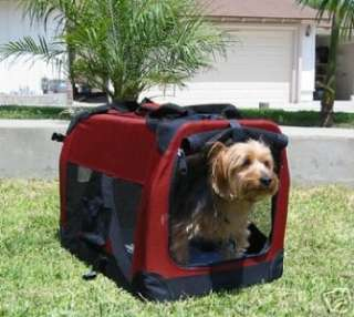 Dog Pet Collapsible Portable Soft Sided Crate Carrier