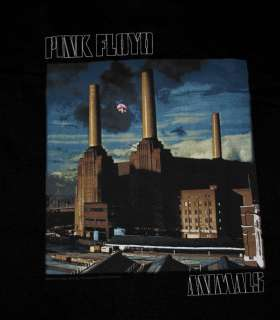 Pink Floyd Animals Album Cover Classic Rock Band T Shirt Tee