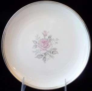 Empress China Rosetta SALAD Plate pink rose Japan EUC