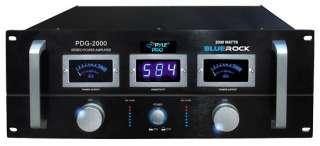Rock Professional Stereo Power Amp Pro Amplifier 068888899048