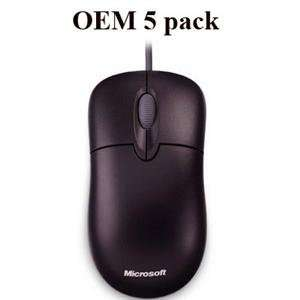 NEW Basic Optical Mouse Black 5pk (Input Devices)