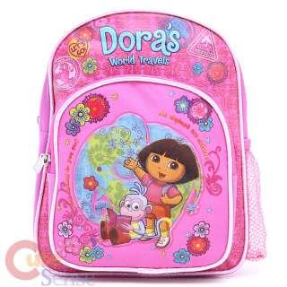 Dora The Explorer Dora & Boots School Backpack ,Toddler Bag 10in Pink