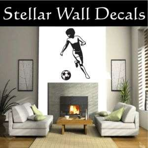 Soccer Sport Wall Car Vinyl Decal Sticker ST023