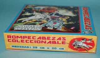 STAR WARS MARVEL COMIC PUZZLE BOXED ARGENTINA