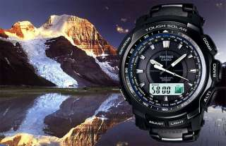 NEW CASIO PROTREK, PATHFINDER PRW5100YT 1 ALTI, BARO, COMPASS, BLACK