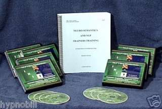 NLP TRAINERS TRAINING Michael Hall 62 DVDs NEW Hypnosis