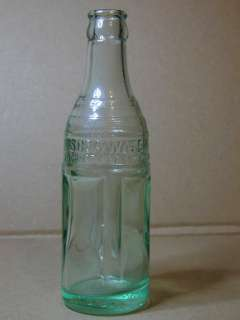 Vintage 1923 Coca Cola Soda Water Bottle from Elkins, WV. Excellent