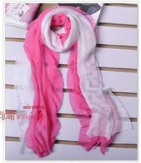 Womens Fashion Candy Colour Long Soft Scarf Wrap Shawl Stole wj02